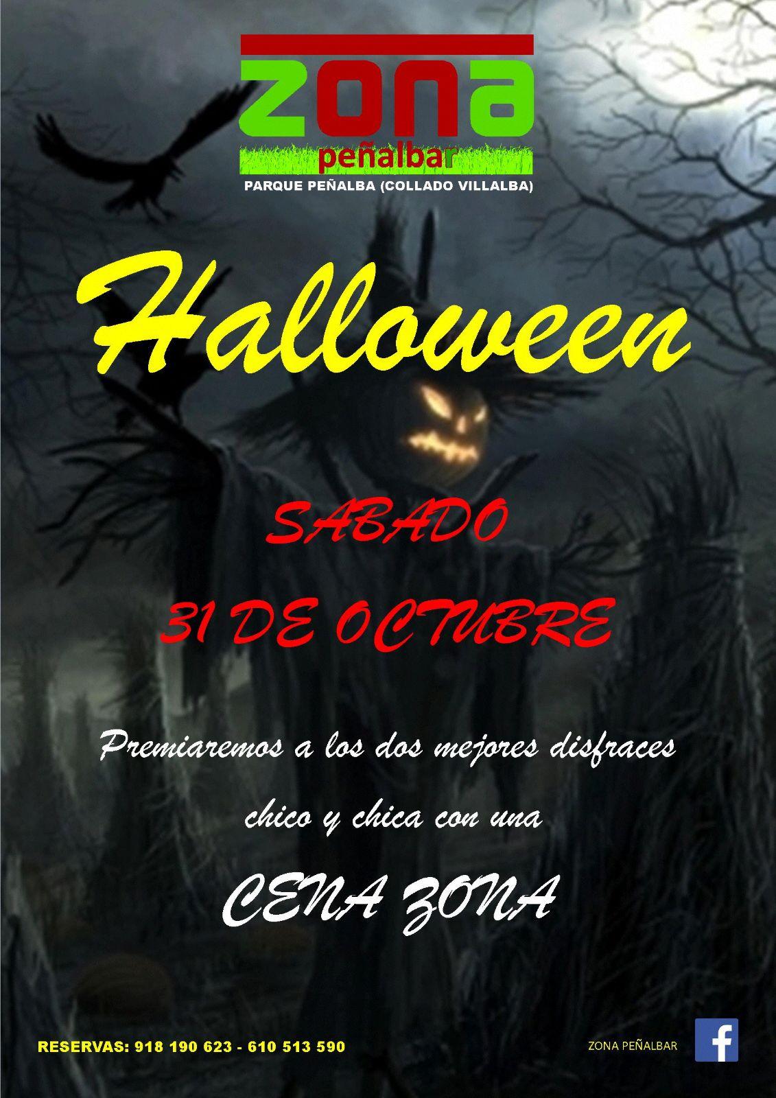 Noche de Halloween en la Sierra de Guadarrama