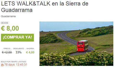 LETS WALK TALK en la Sierra de Guadarrama ViveLaSierra