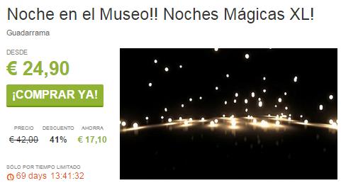 Noche en el Museo Noches Mágicas XL ViveLaSierra