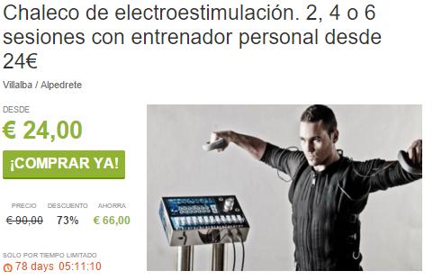 Chaleco de Bioestimulación en Alpedrete y Villalba. Desde 24€ ViveLaSierra
